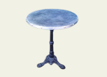 Ordinaire Canu0027t See The Style Of Zinc Table Youu0027re Looking For?