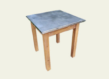 Canu0027t See The Style Of Zinc Table Youu0027re Looking For?